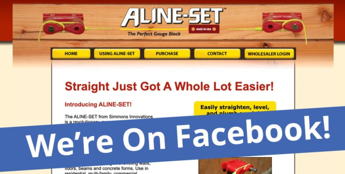 The BLÜ Group partners with ALINE-SET and helps them get on Facebook.