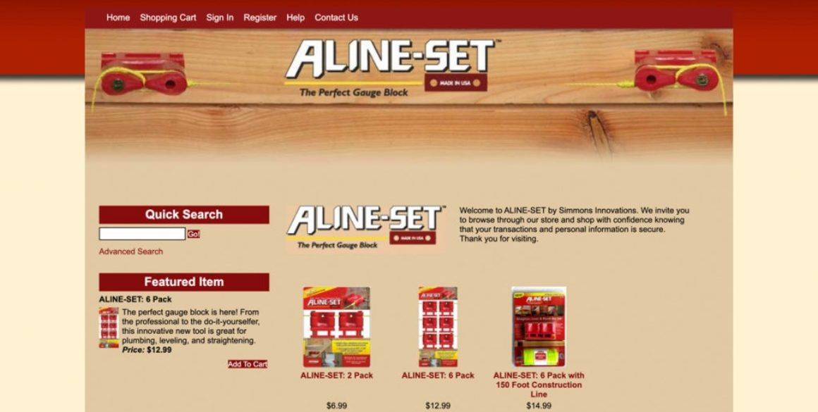 The BLÜ Group partners with ALINE-SET and creates a new online store for them.