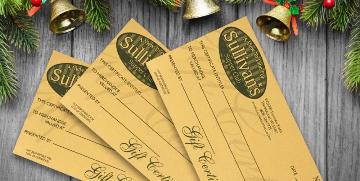 The BLÜ Group partners with Sullivan's Supper Club to write their radio spot for their holiday gift certificate promotion.
