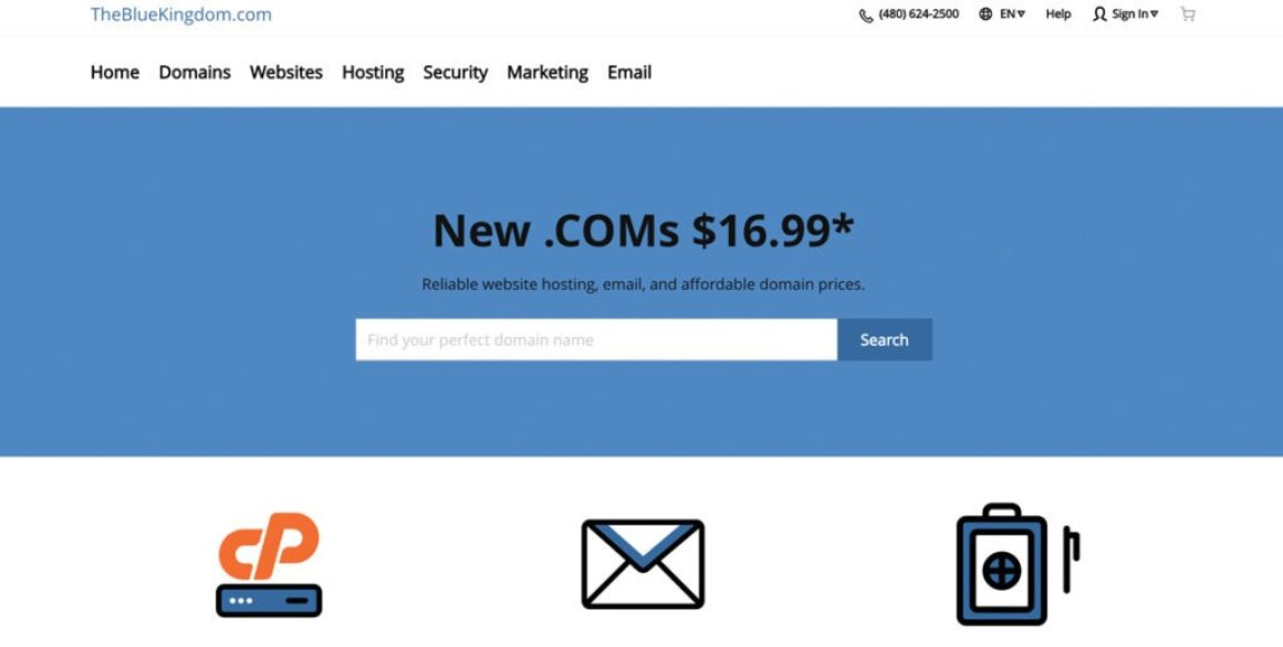 Save on Website Hosting, Domain Names, & More with The Blue Kingdom