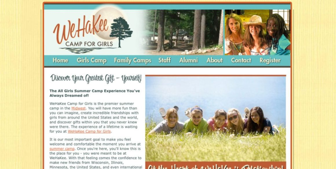 The BLÜ Group is chosen by WeHaKee Camp for Girls for their inbound marketing campaign