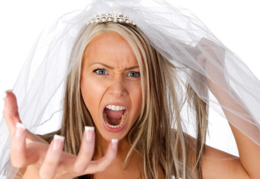 bridezilla - stressed out bride