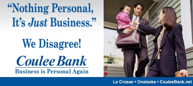 Coulee Bank Billboard