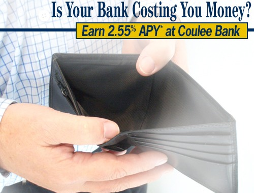 Coulee Bank Facebook Ad