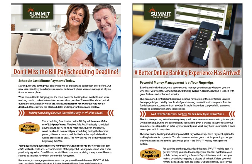 Summit Bank and Trust E-newsletter