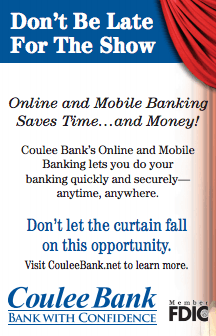 Coulee Bank Online and Mobile Banking Ad