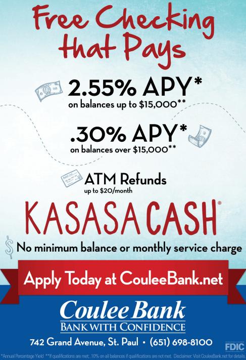Coulee Bank Kasasa Cash Ad