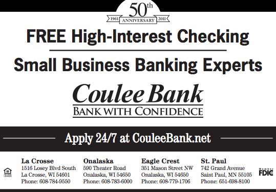 Coulee Bank Ad