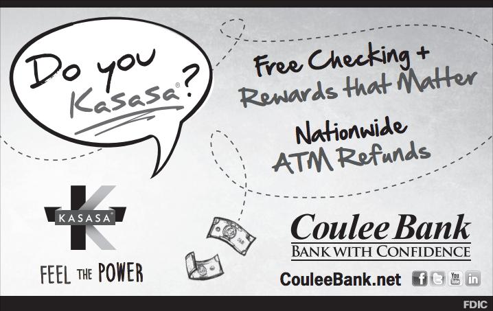 Coulee Bank Kasasa Ad
