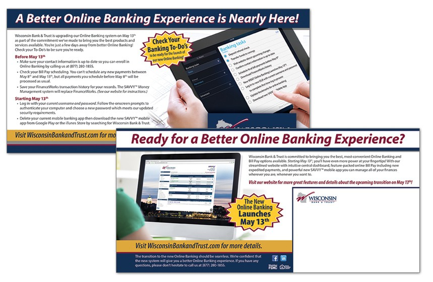 Wisconsin Bank and Trust Direct Mail