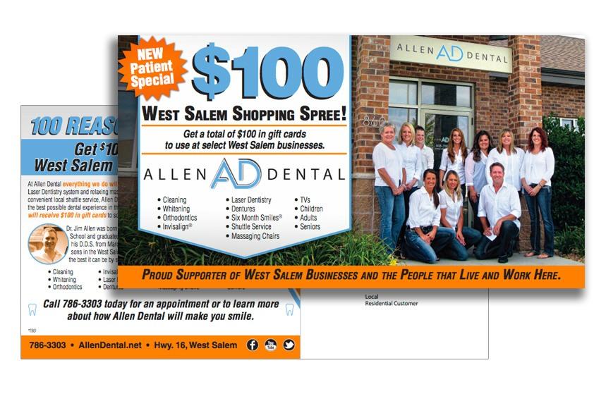 Allen Dental Direct Mail