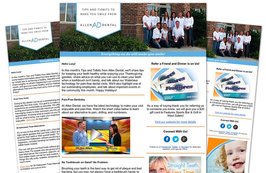 Allen Dental E-Newsletters