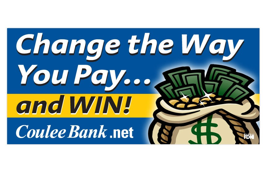 """Coulee Bank """"Change the Way You Pay"""" Bill Pay Billboard"""