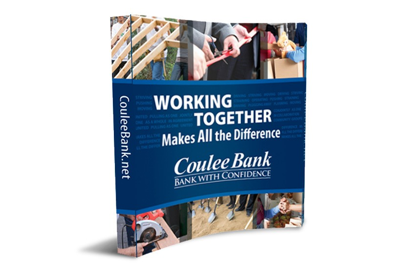 Coulee Bank Tradeshow Booth