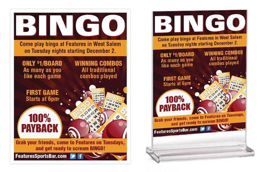 Features Bingo Items