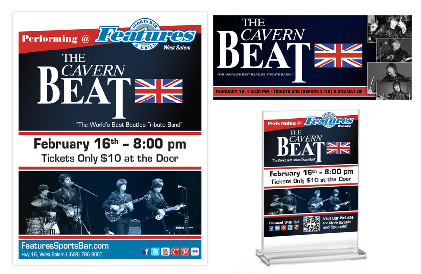 Features Cavern Beat Promo Items