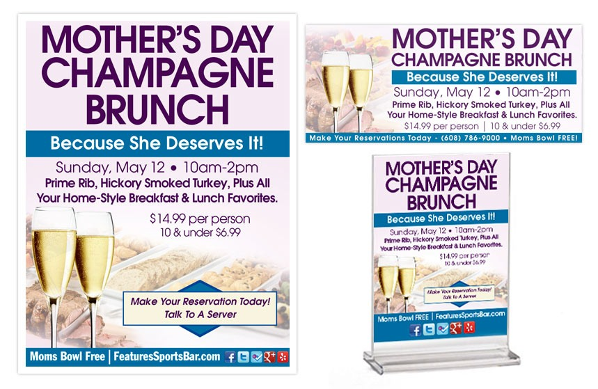 Features Mother's Day Promos