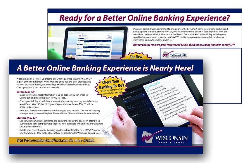 Heartland Online Banking Direct Mail