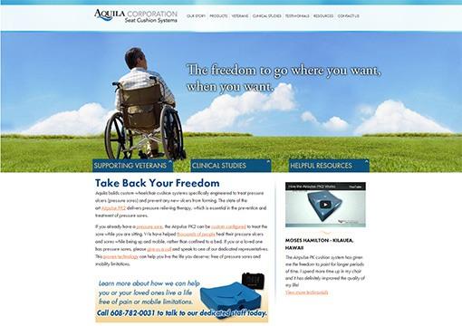 Aquila Corp Website