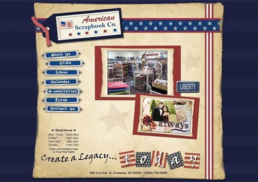 American Scrapbook Co Website