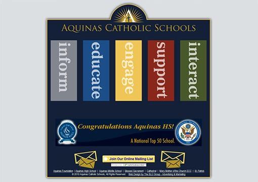 Aquinas Catholic Schools Website