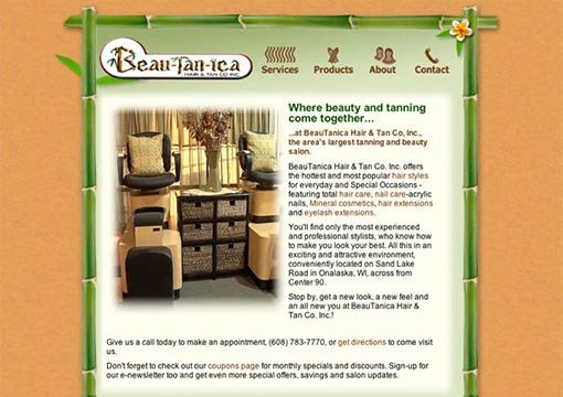 Beau-tan-ica Website