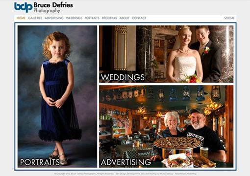 Bruce Defries Photography Website