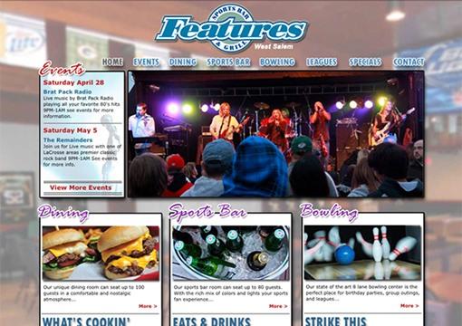 Features Website