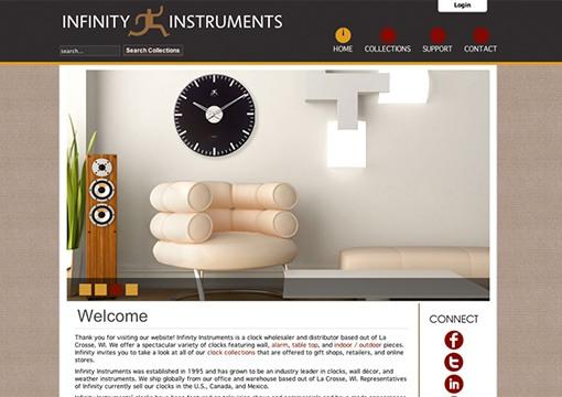 Infinity Instruments Website