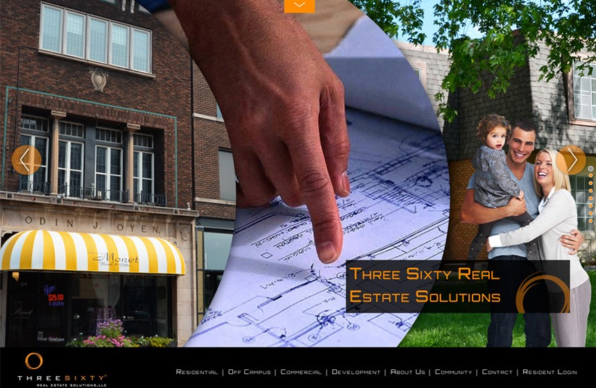 Three Sixty Real Estate Website