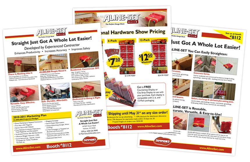 Aline-Set Sales Material