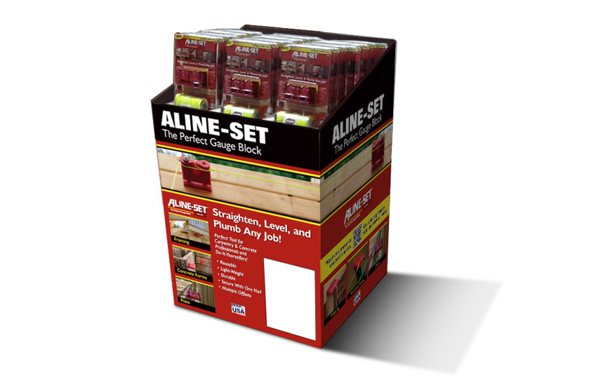 Aline-Set Store Display