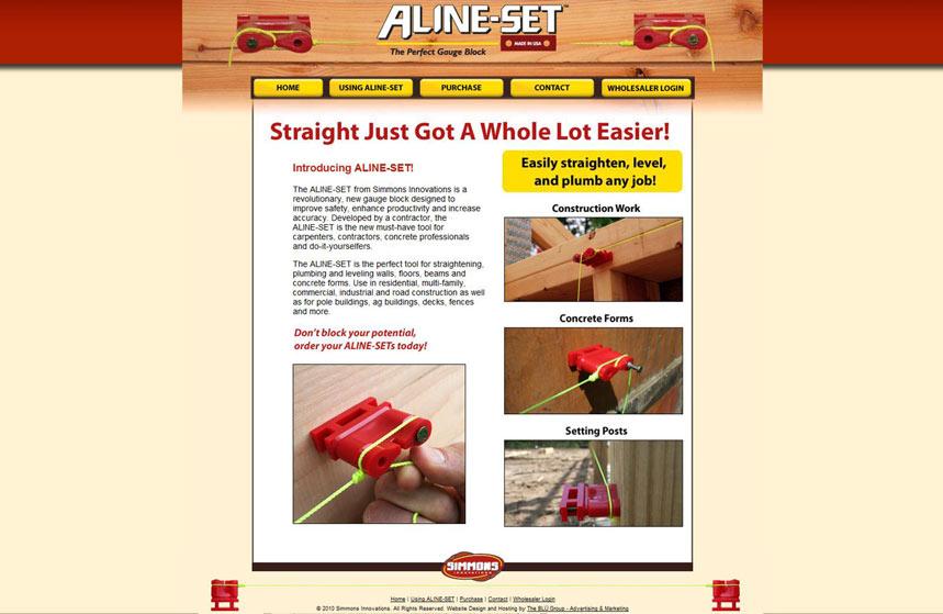 Aline-Set Website