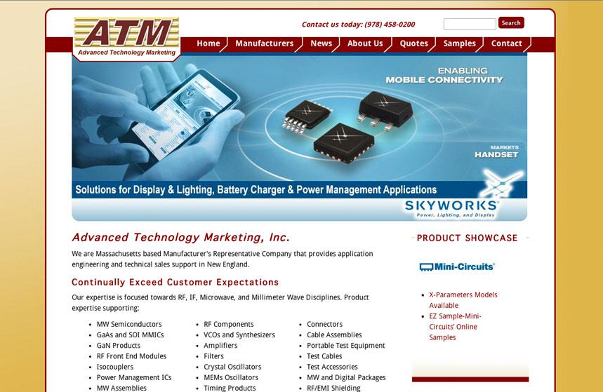 ATM Inc Website