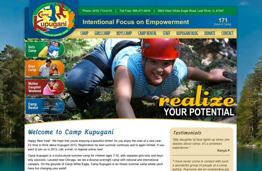 Camp Kupugani Website