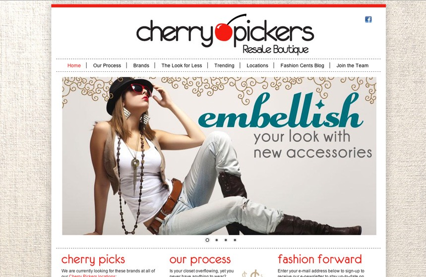 Cherry Pickers Website