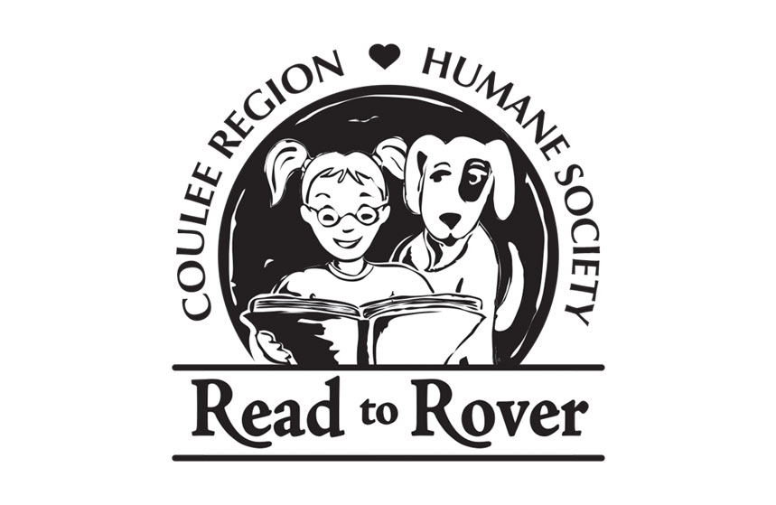 Coulee Region Humane Society Read to Rover Logo