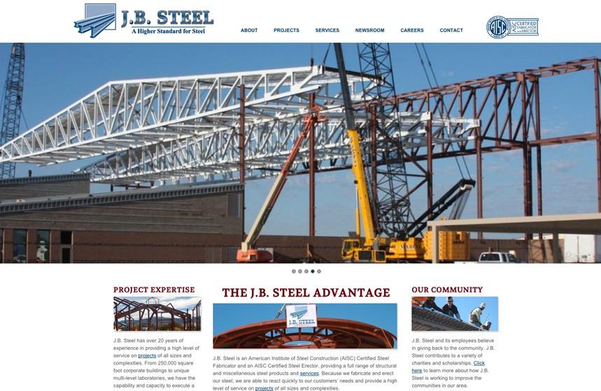 JB Steel Website