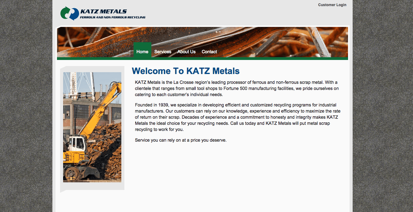 KAtz Metals Website