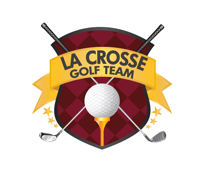 La Crosse Golf Team Logo