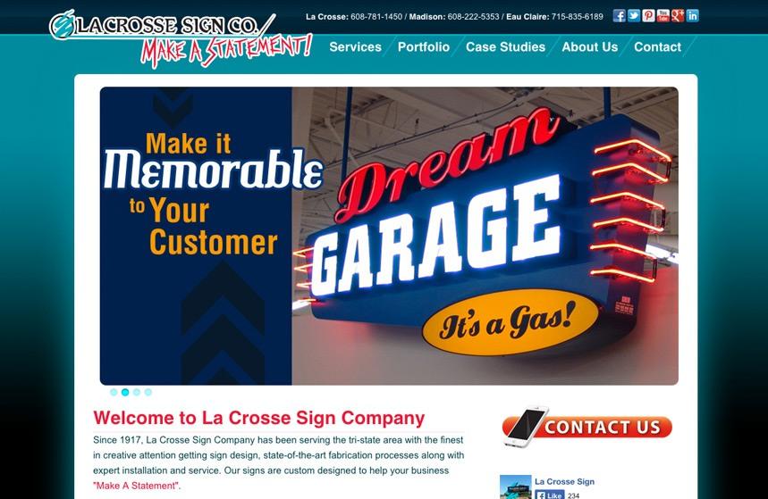 La Crosse Sign Co Website