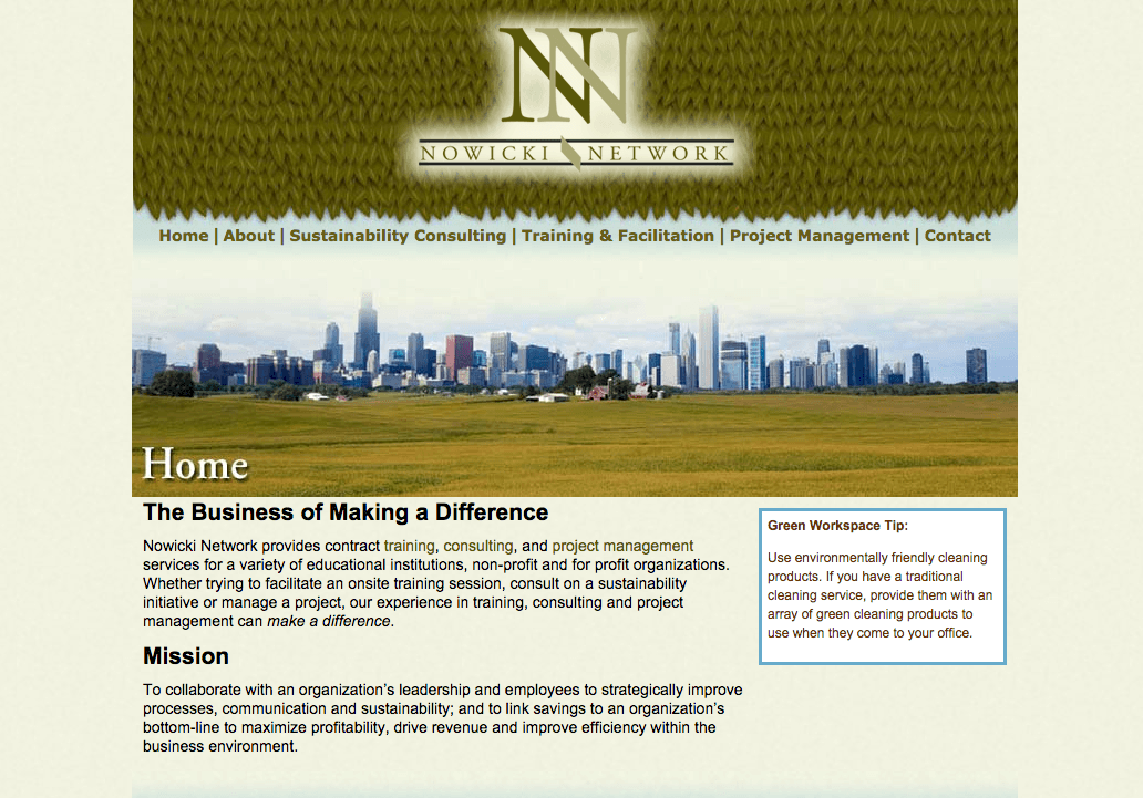 Nowicki Network Website