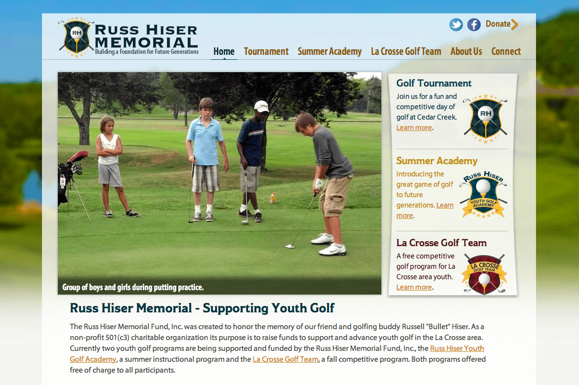 Russ Hiser Memorial Website