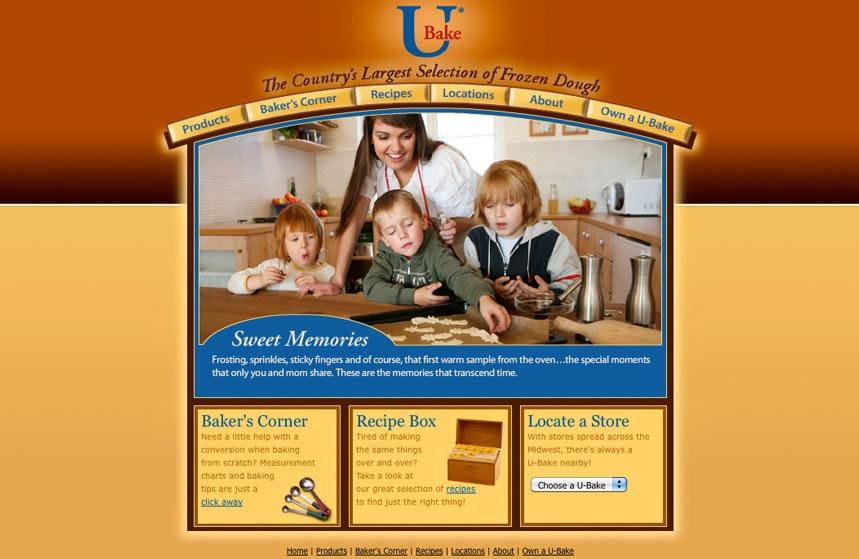 U Bake Website