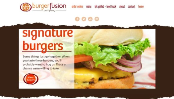 The BLÜ Group partners with Burger Fusion Company and creates a new website for them.