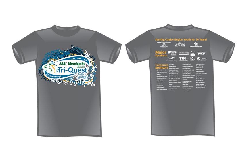 Tri-Quest t-shirt