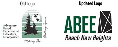 ABEE Inc. - Logo before and after.