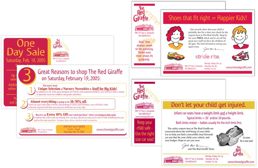 The Red Giraffe Direct Mail