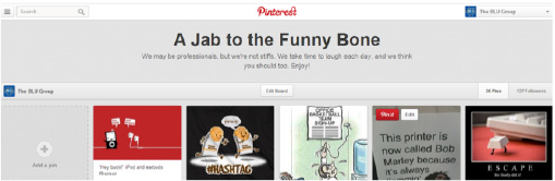 Add personality to your Pinterest page