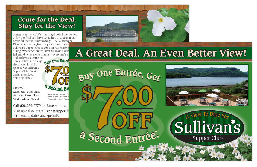 Sullivan's Savings Direct Mail
